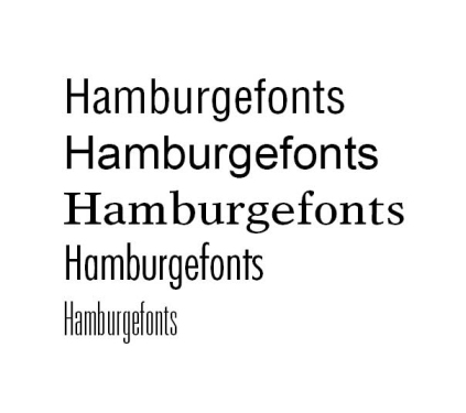 Hamburgefonts